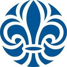 Scouternas logo, tidigare Svenska Scoutrådets loggo länk till hemsidan.